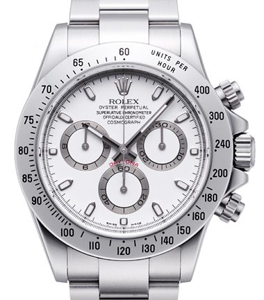 Top swiss Rolex Daytona 116520W replica watches online