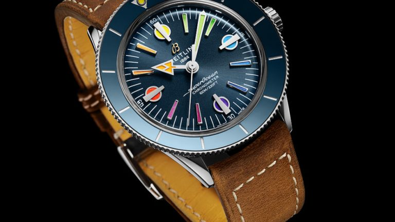 Rainbow Redux: Cheap  Breitling Second Superocean Heritage '57 Limited Edition Replica Watches