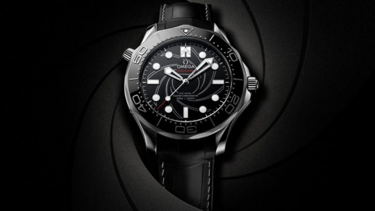 """No Time to Die"":Best Omega  Seamaster Diver 300M James Bond Edition Replica Watches"